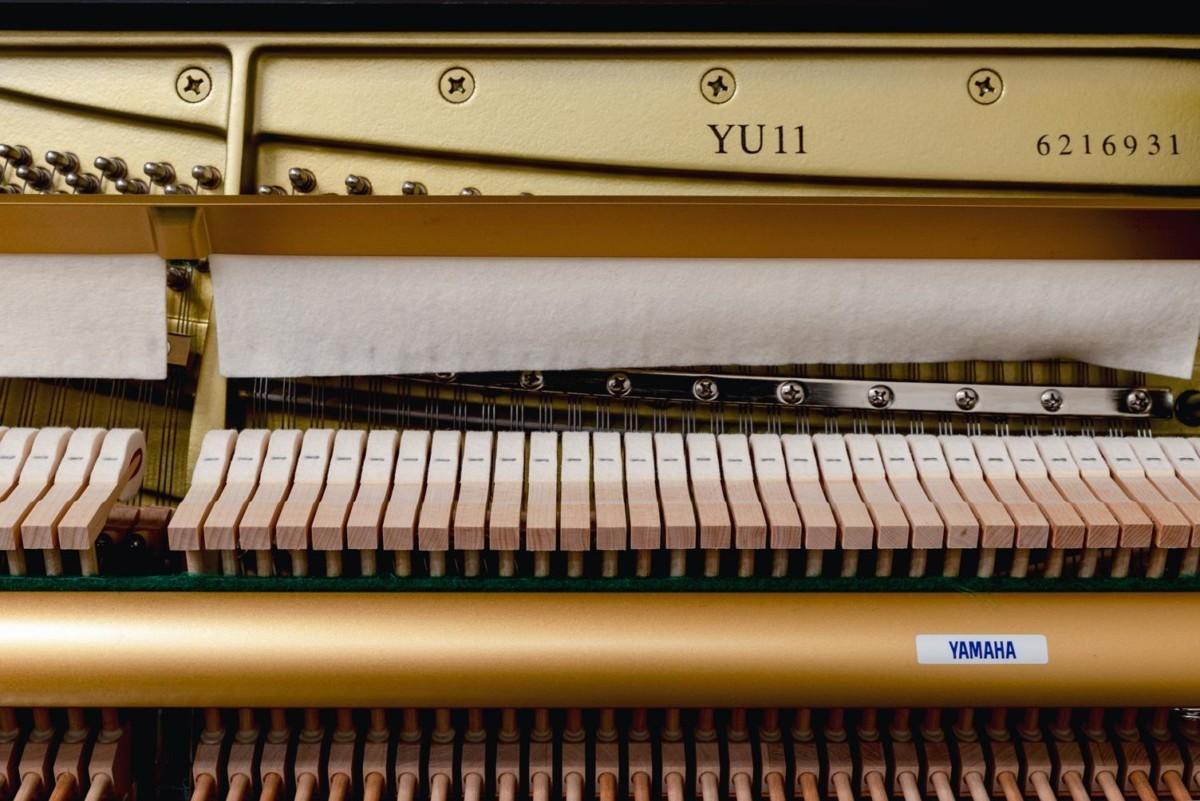 YAMAHA-YU11-6216931 mecánica piano martillos clavijero