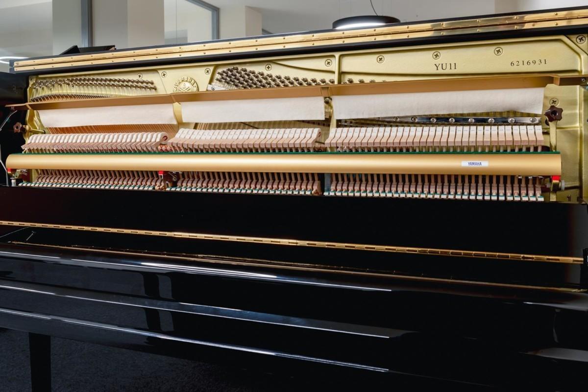 YAMAHA-YU11-6216931 mecánica piano martillos clavijero clavijas