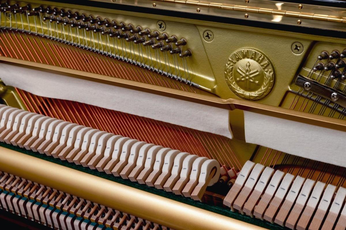 YAMAHA-YU11-6216931 mecánica piano martillos fieltro cuerdas clavijas clavijero