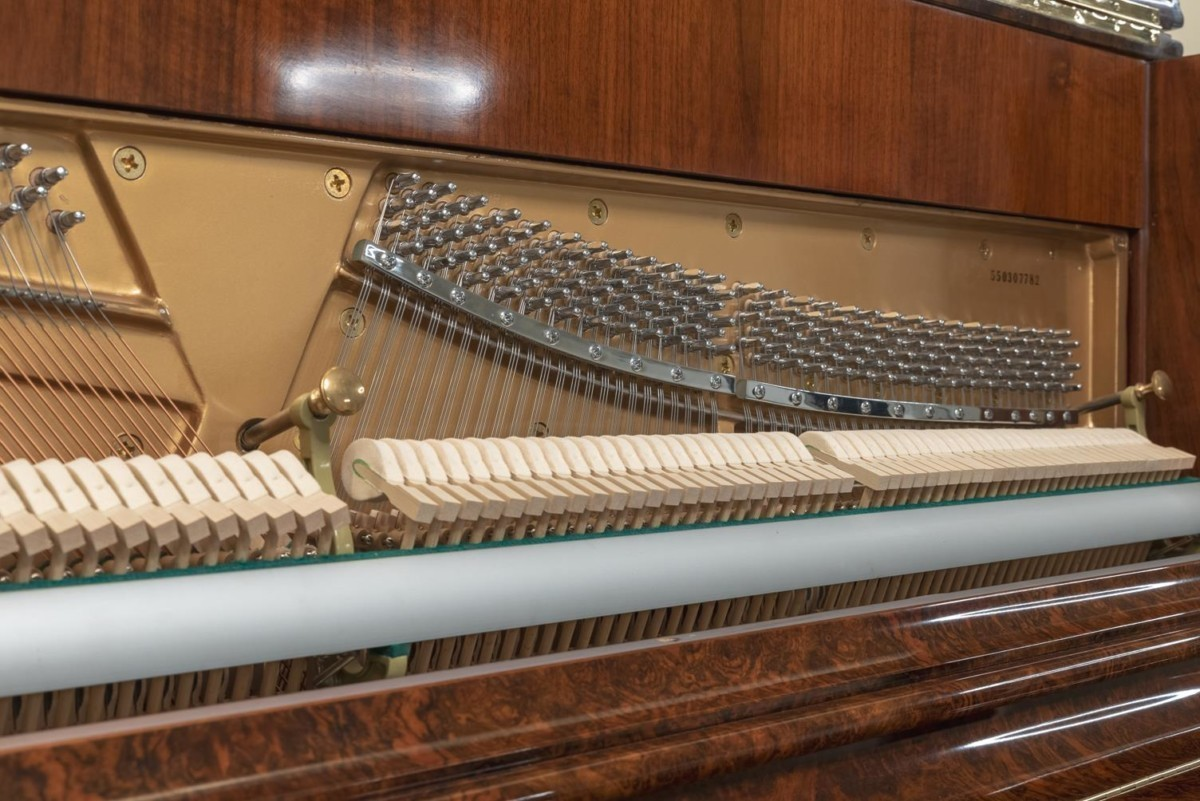 JJ-HOPKINSON-H136-550307782 vista detalle mecánica clavijas clavijeros martillos cuerdas