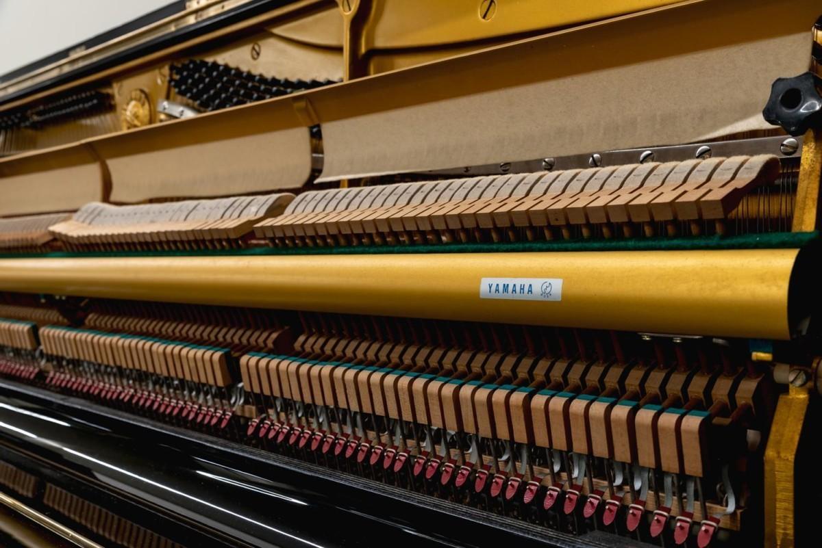 YAMAHA-U1-2153394 mecánica piano martillos sordina