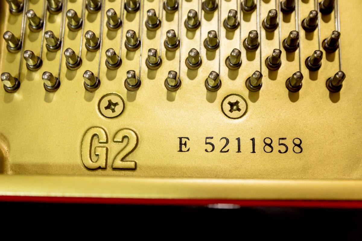 yamaha-G2-5211858- clavijas, modelo, nº de serie