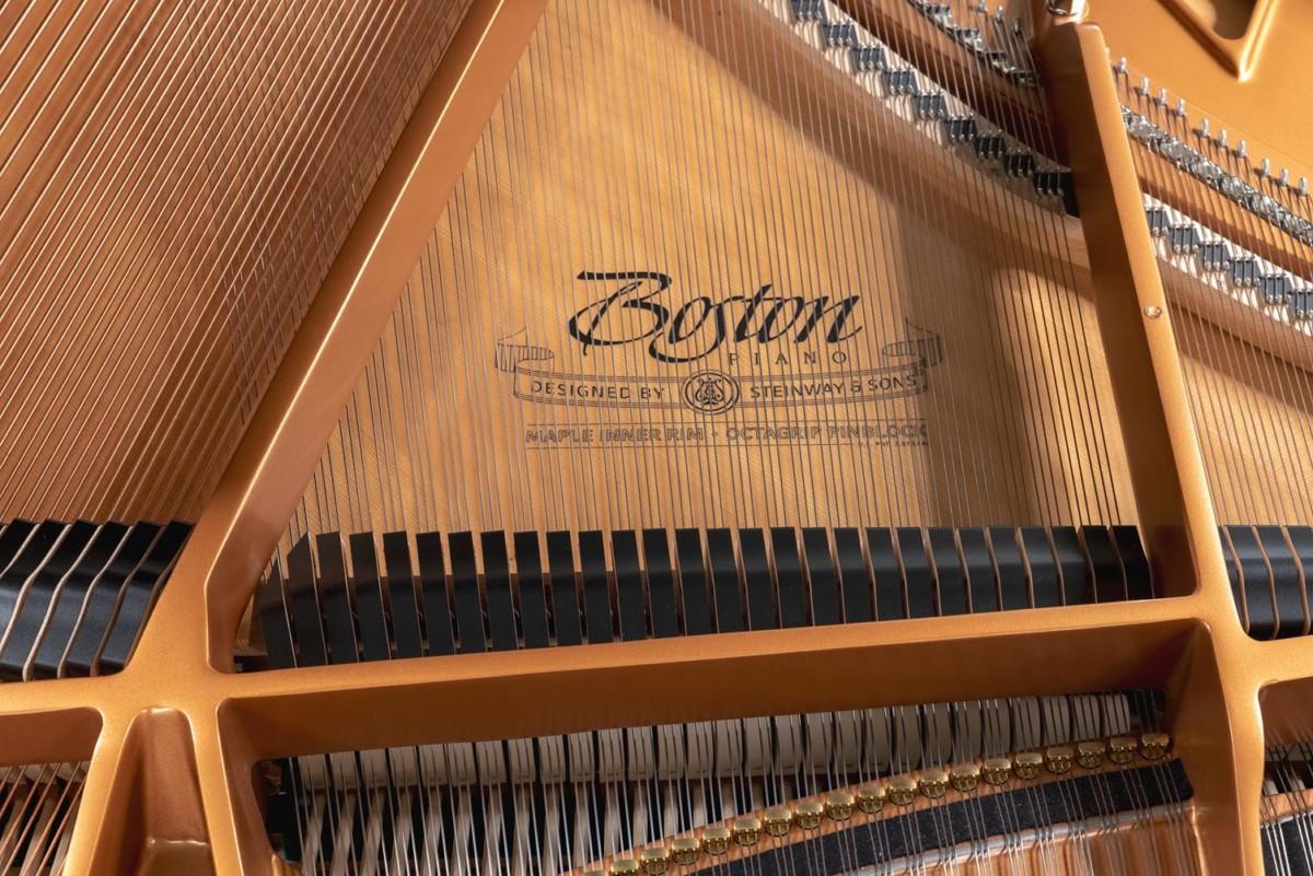 BOSTON GP178 189785 Arpa, mecanismo, apagadores, tabla armónica