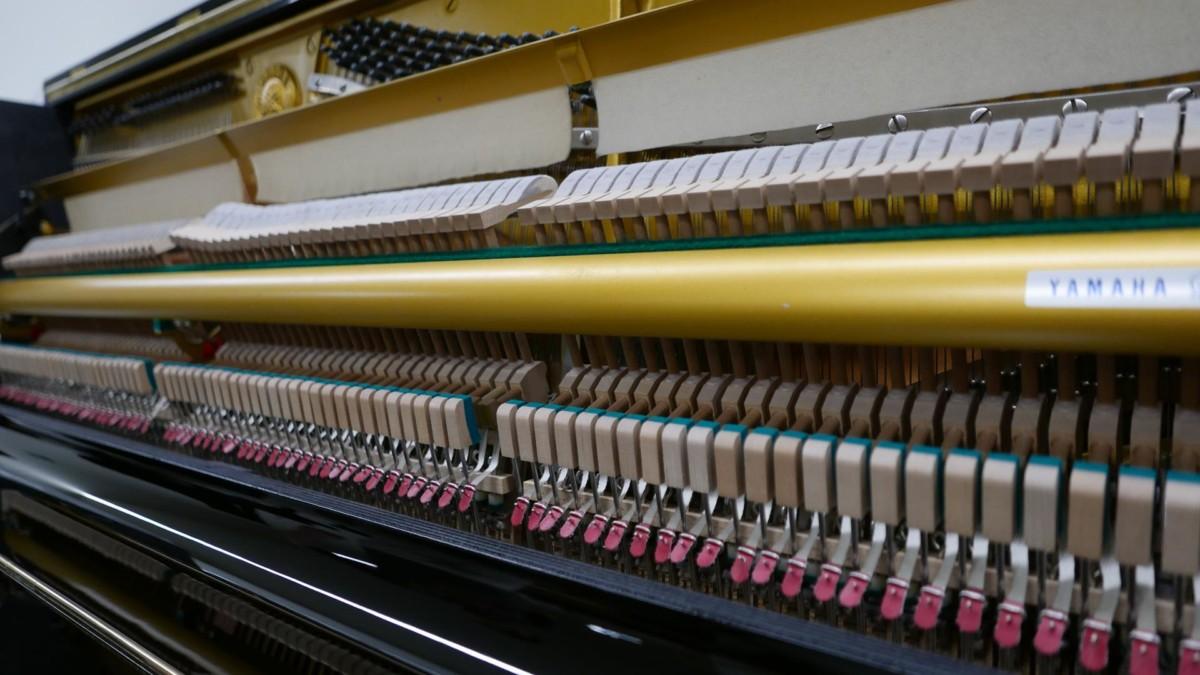 YAMAHA U1 2366299 clavijero, macillos, sordina, mecanismo