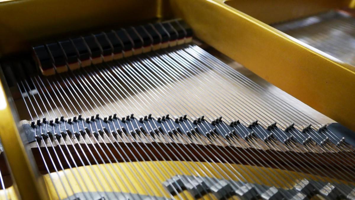 piano de cola Yamaha G2 #1568488 cuerdas apagadores