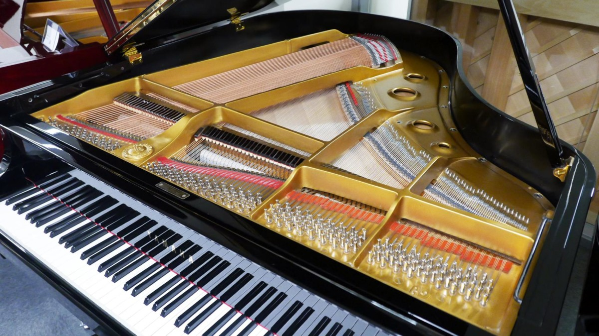 piano de cola Yamaha G2 #1568488 plano cenital general interior