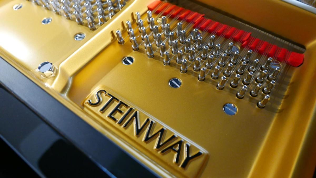 STEINWAY D274 611126 clavijero, arpa