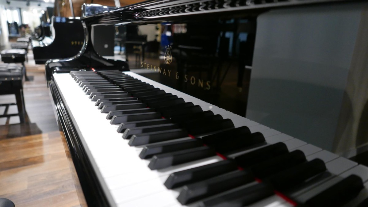 STEINWAY D274 611126 teclado