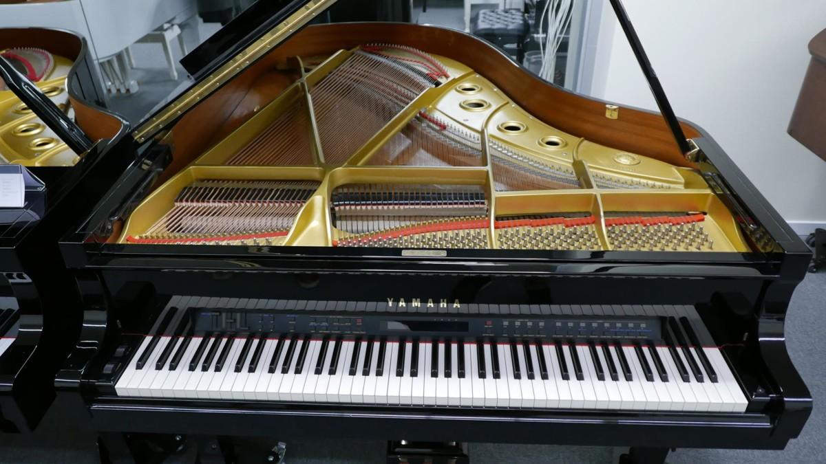 YAMAHA C3 MIDI 4491171 Arpa, apagadores, tabla armónica, puente, teclado