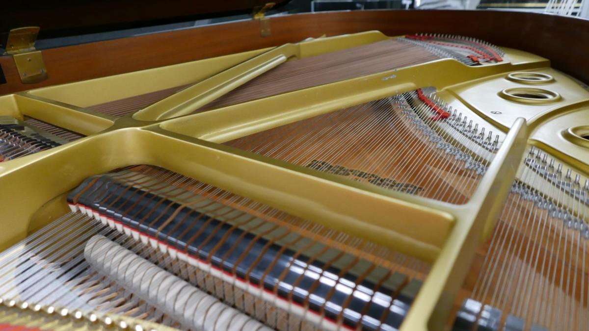 YAMAHA C3 MIDI 4491171 Arpa, apagadores, tabla armónica, puente