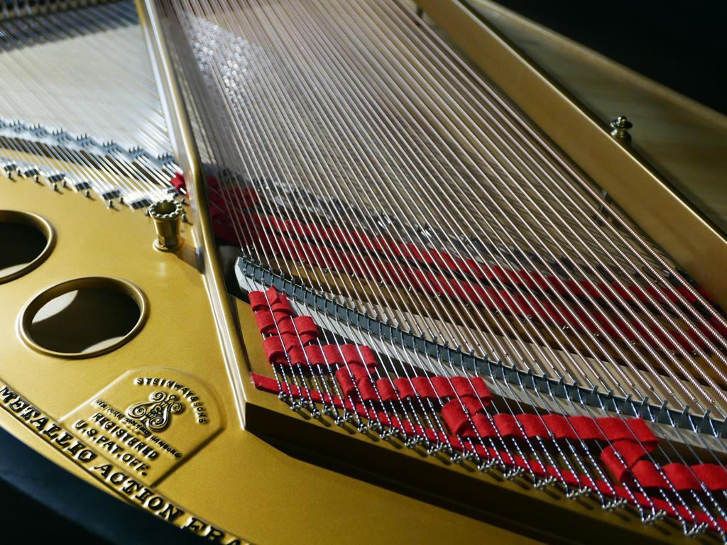 STEINWAY & SONS O180 245768 arpa, cuerdas, tabla armónica,