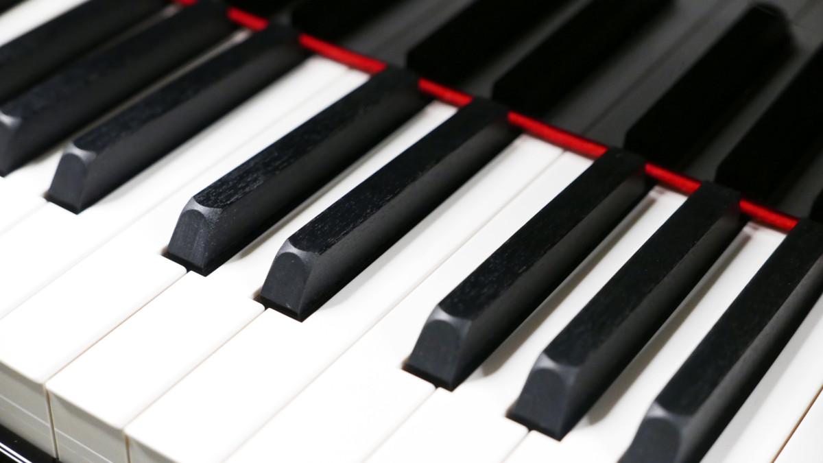 Yamaha CX2 #6473625 detalle tecla teclas teclado negra blanca