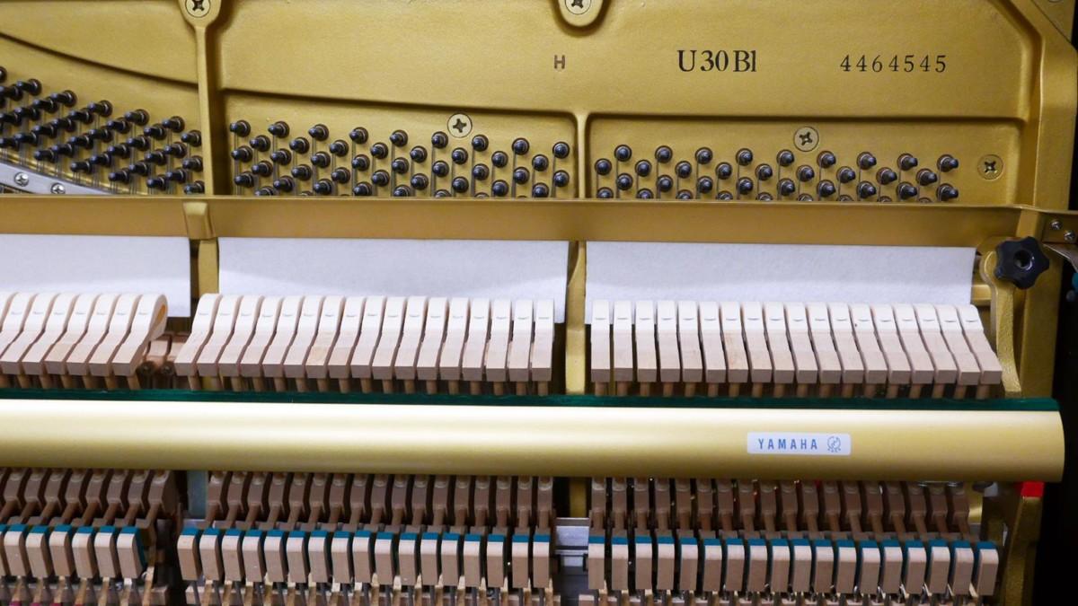 Yamaha U30BL #4464545 modelo numero de serie