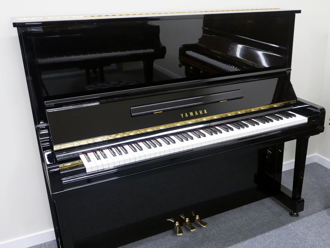 Yamaha U30BL #4464545 plano general piano abierto