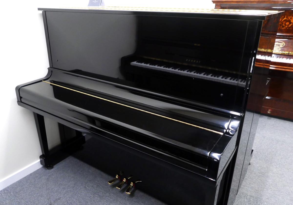 Yamaha U30BL #45025660 vista general piano cerrado
