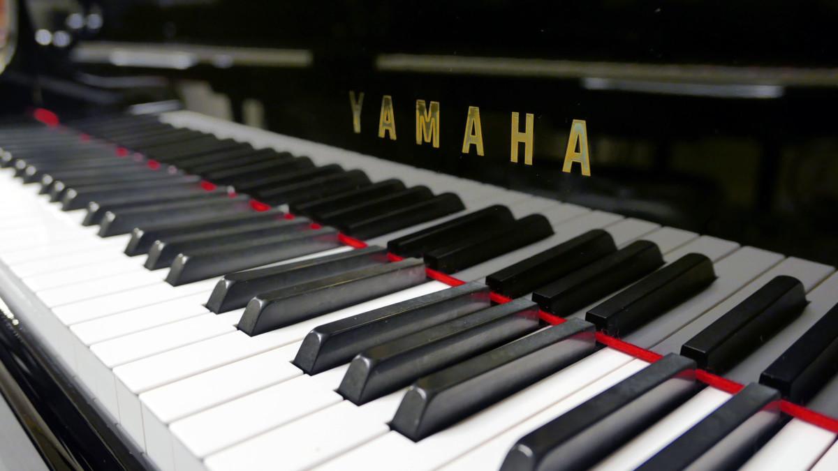 piano de cola Yamaha G2 #4310052 teclado teclas