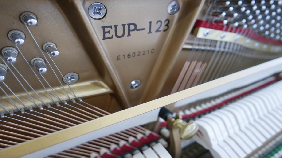 piano vertical Essex EUP123E silent #160221 modelo numero de serie
