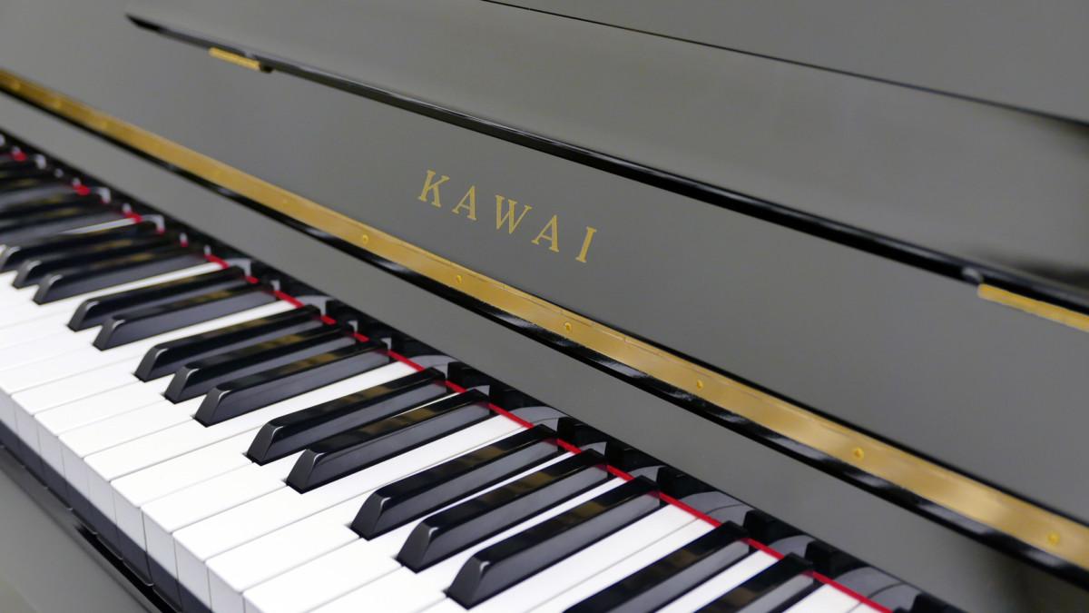 piano vertical Kawai H20 Silent #2185669 teclado teclas marca