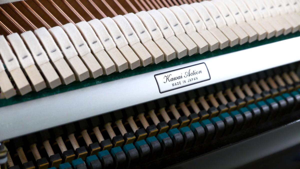 piano vertical Kawai K2 #F040168 mecanica martillos bordones