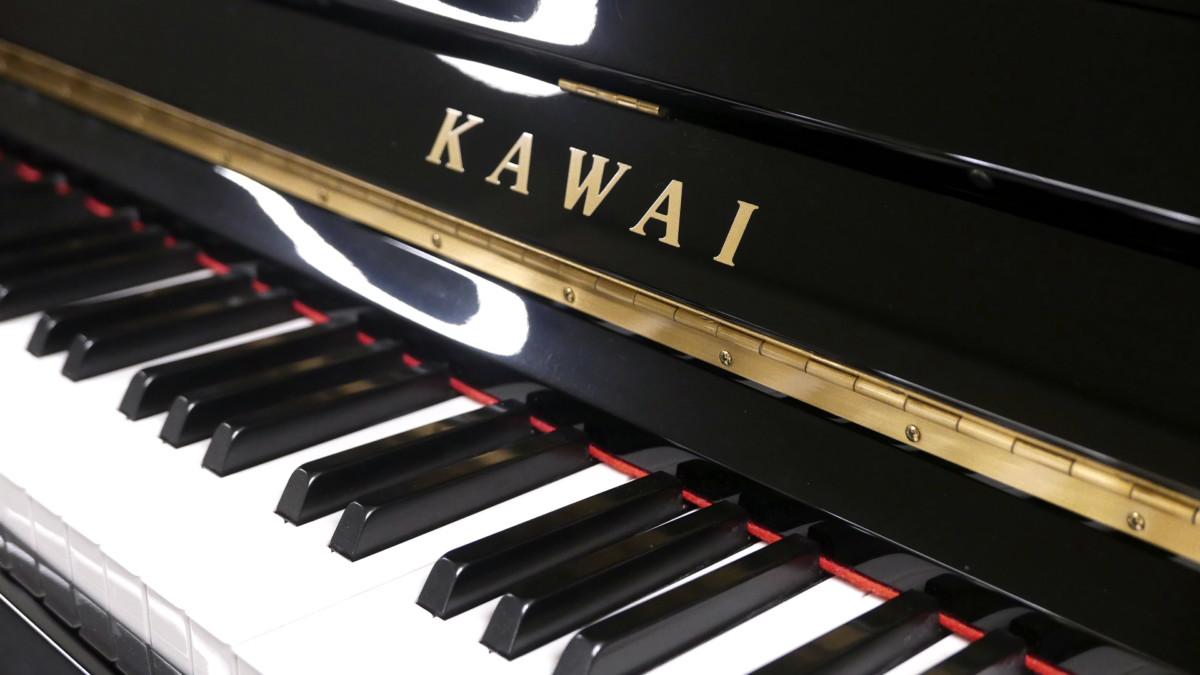 piano vertical Kawai K2 #F040168 teclado teclas marca