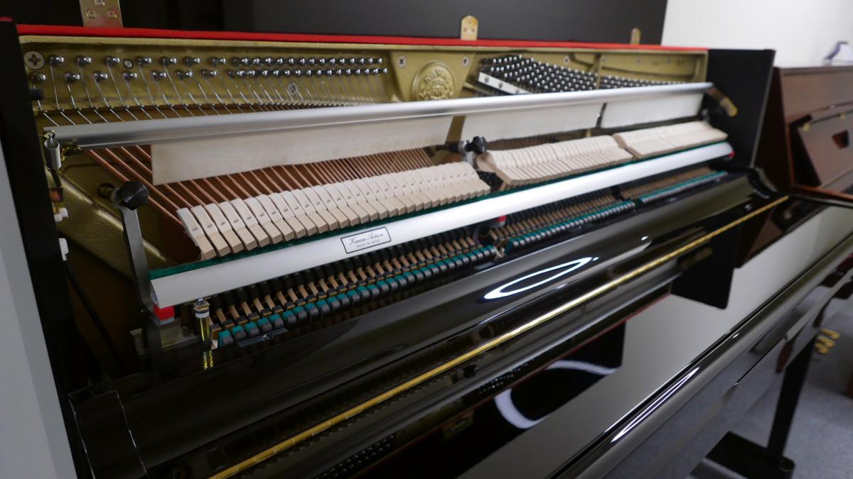 piano vertical Kawai K2 #F040168 vista general mecanica