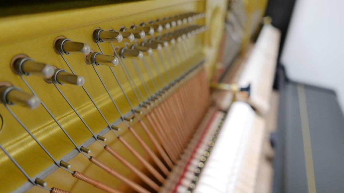 Yamaha U3FS #5075570 cuerdas, mecanismo