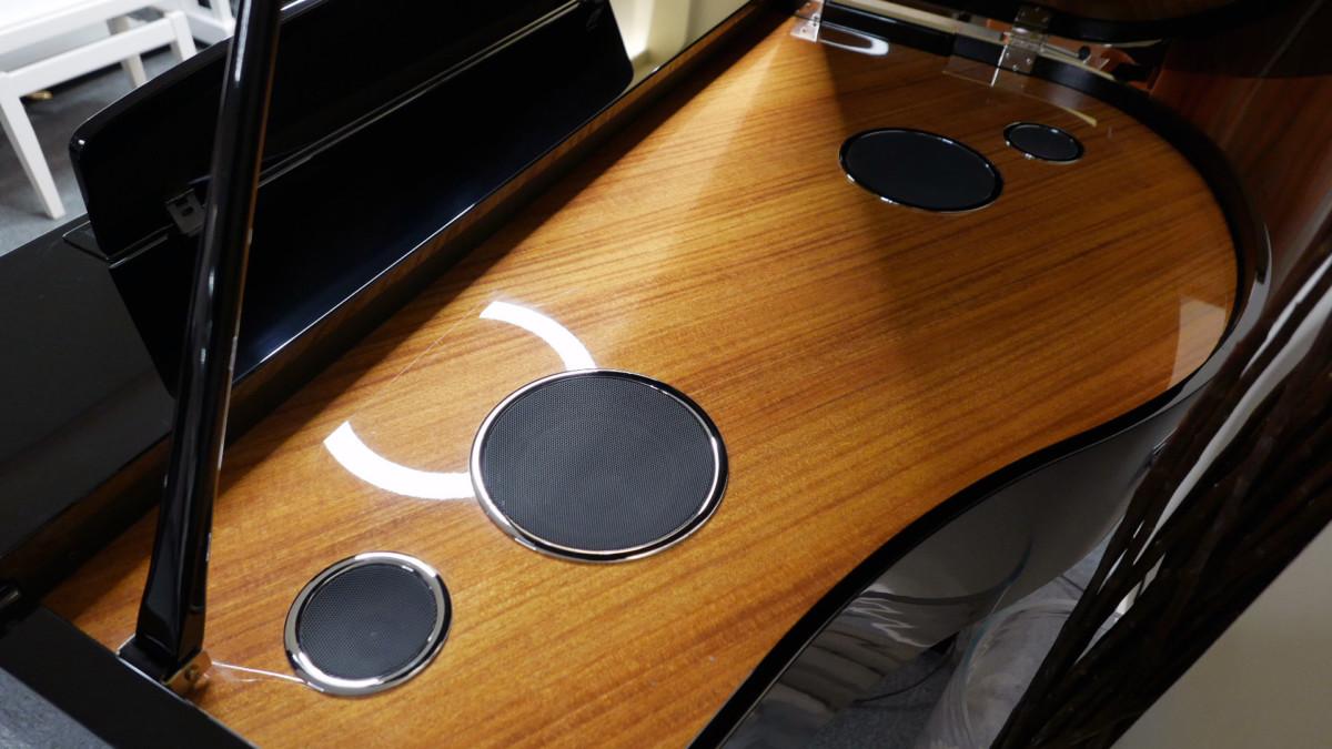piano de cola Yamaha Clavinova CLP695GP plano general interior