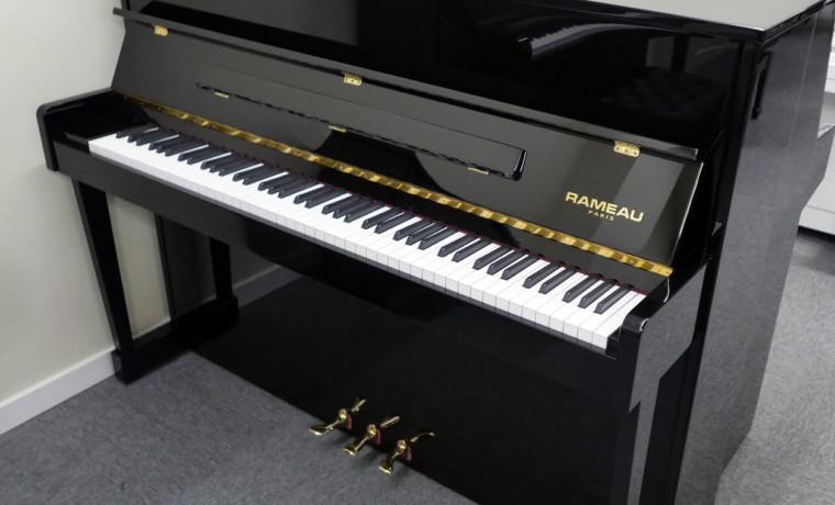 piano vertical Rameau 112 #52358 vista general tapa cerrada