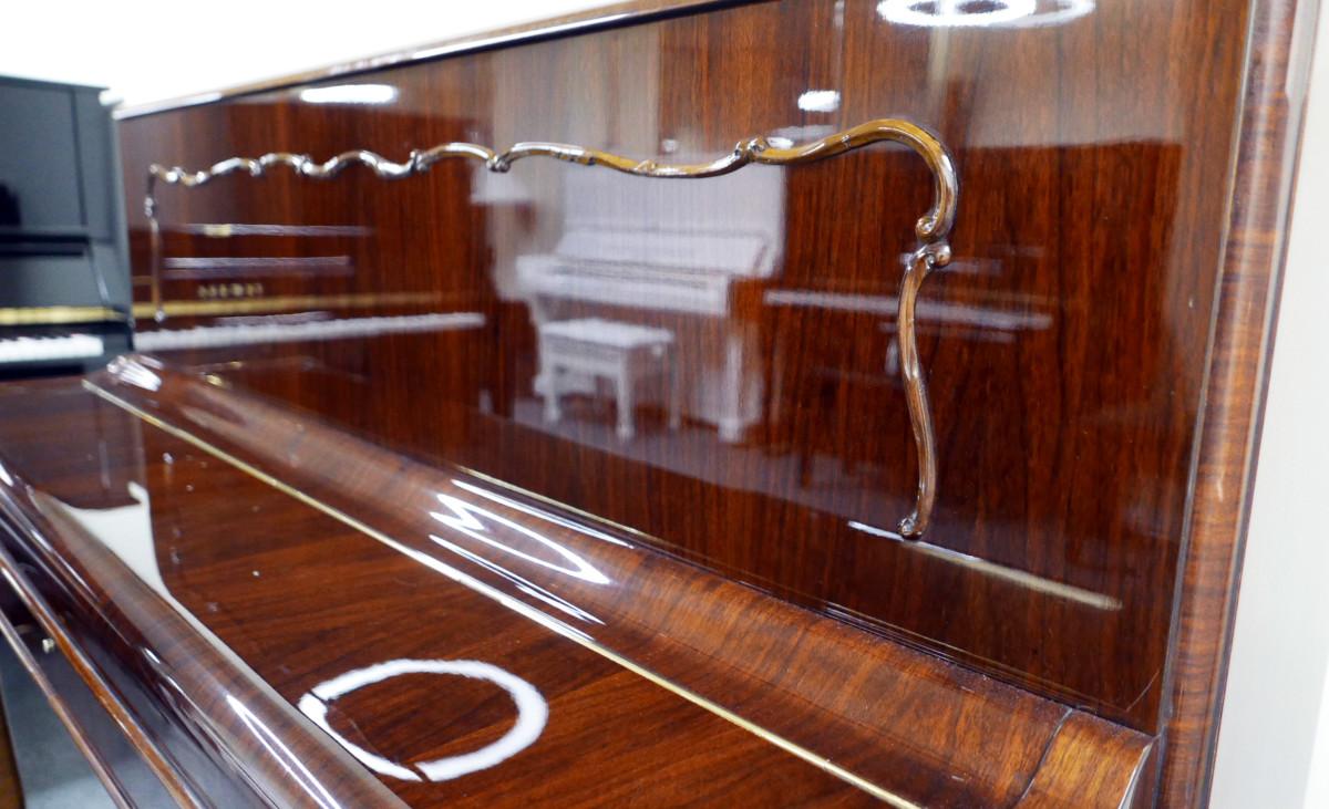 piano vertical Weinbach 115 #157122 detalle mueble