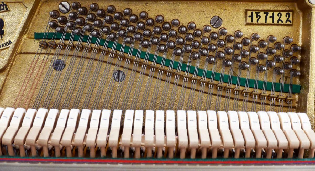 piano vertical Weinbach 115 #157122 numero de serie interior