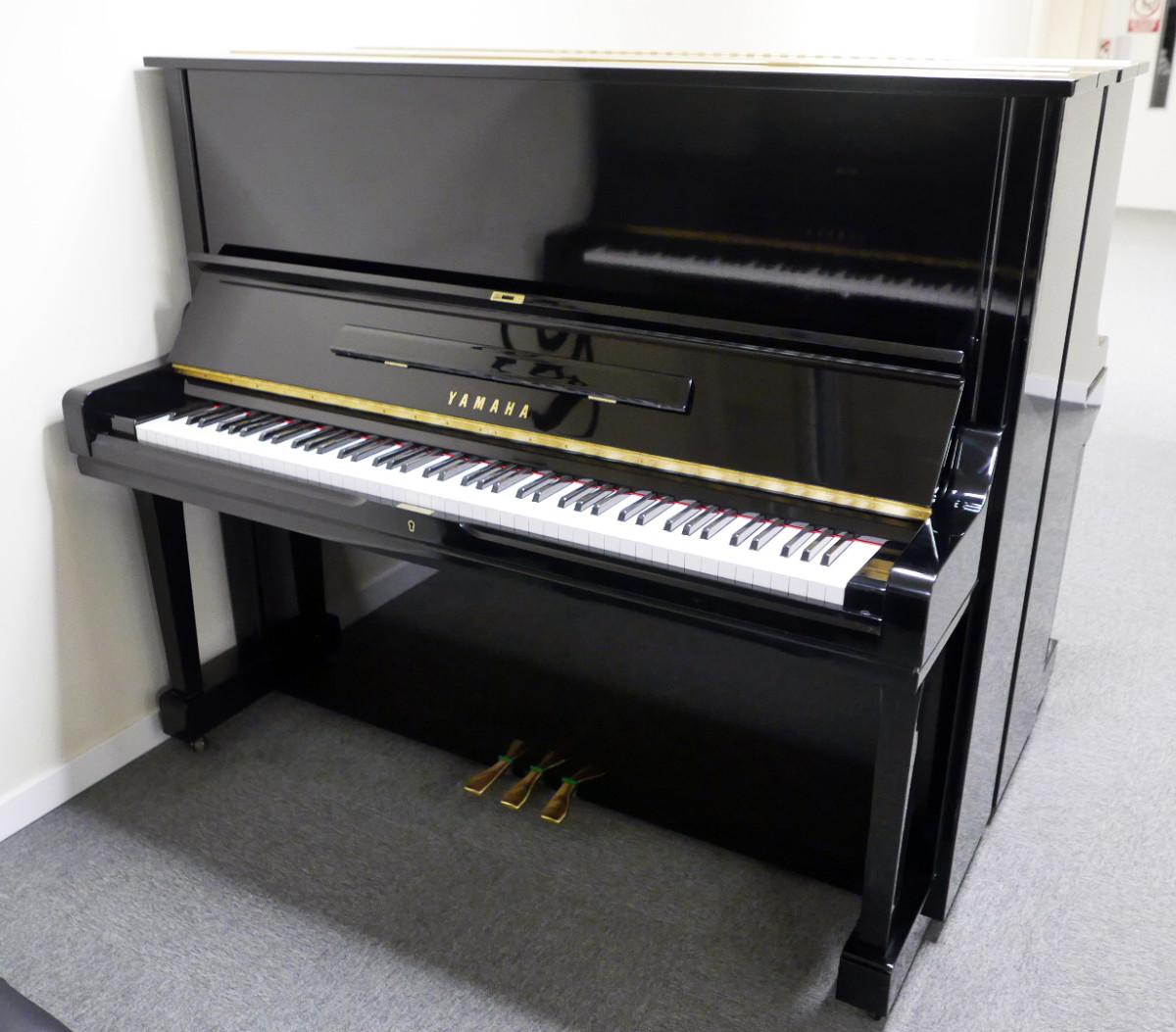 piano vertical Yamaha U3 #3788238 vista general tapa abierta