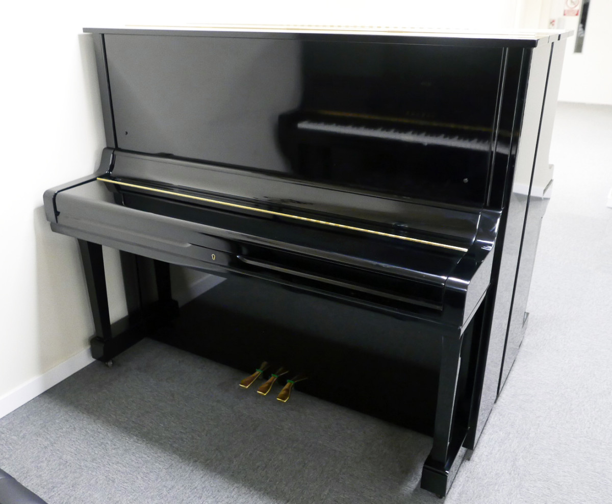 piano vertical Yamaha U3 #3788238 vista general tapa cerrada