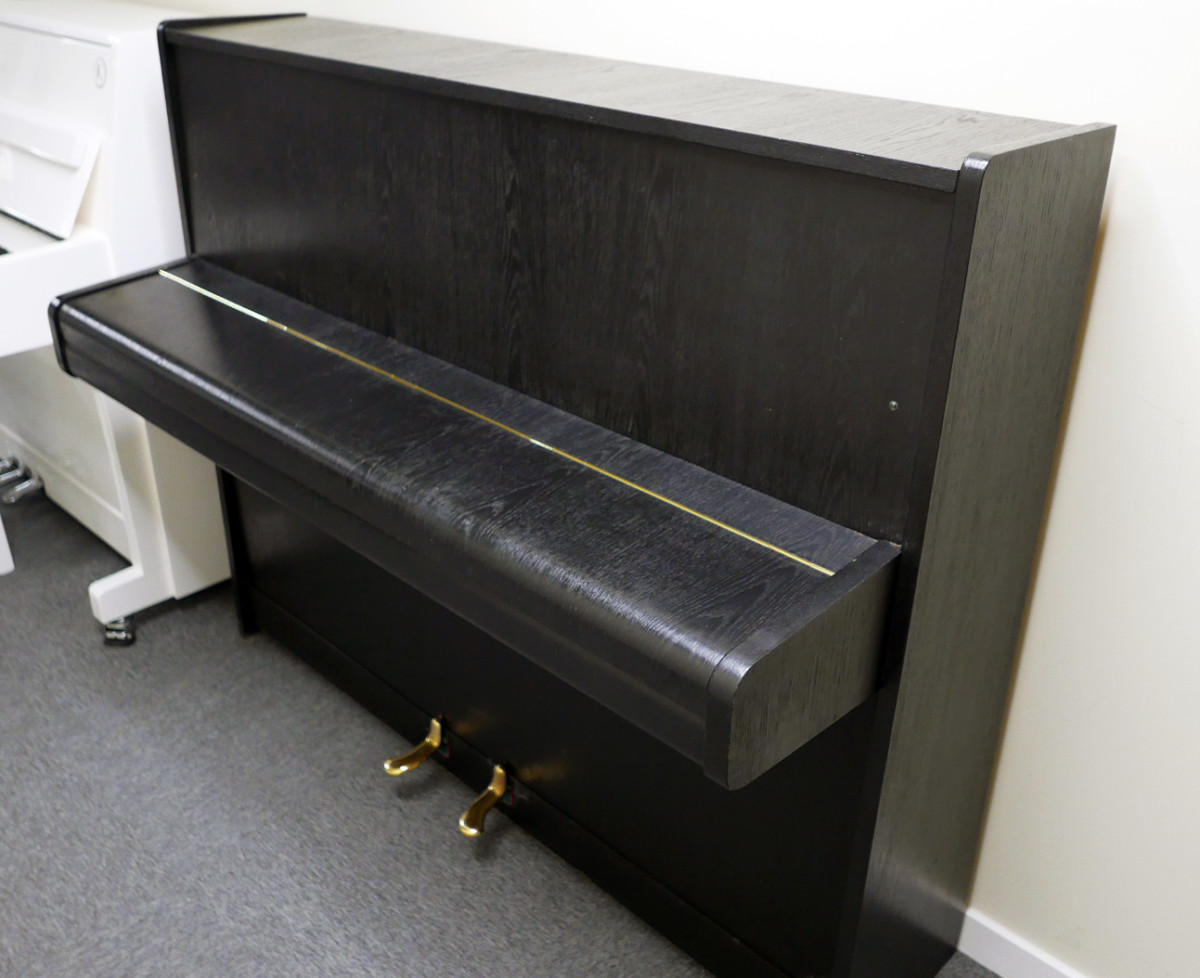 piano vertical scholze115 #54916 vista general tapa cerrada