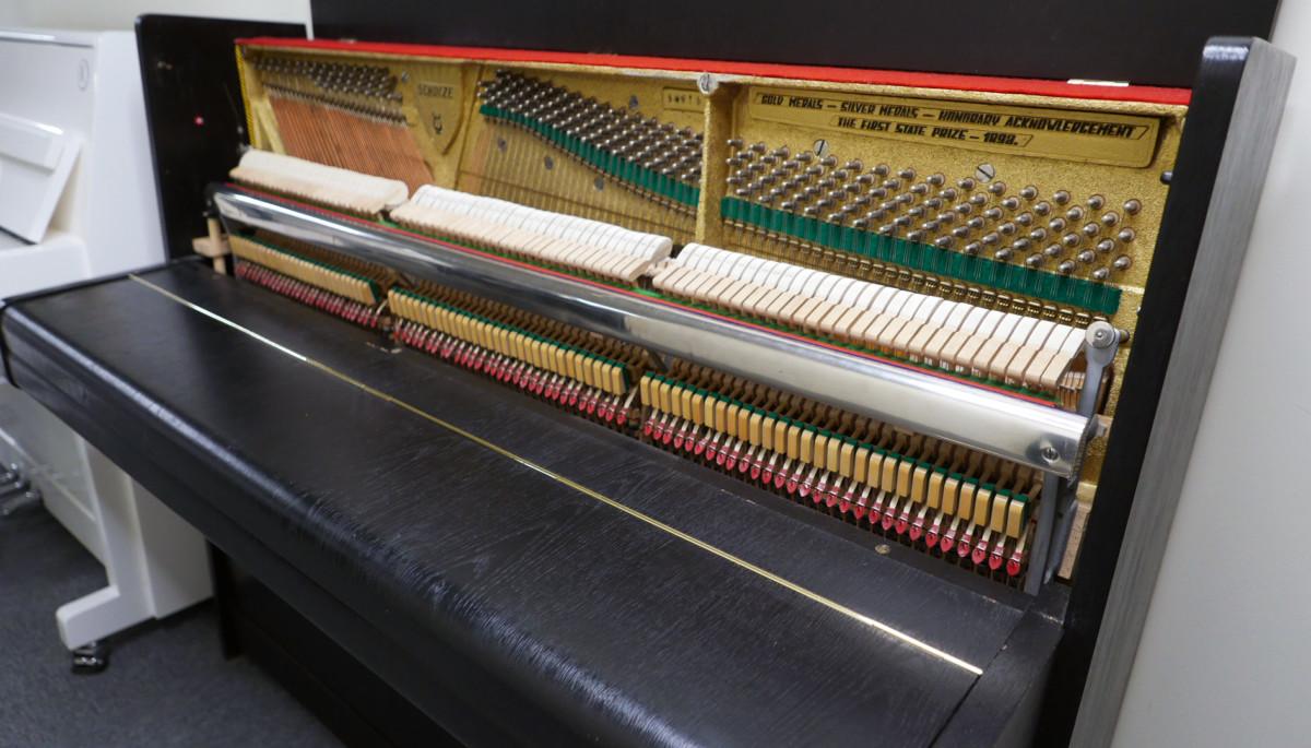piano vertical scholze115 #54916 vista lateral general mecanica