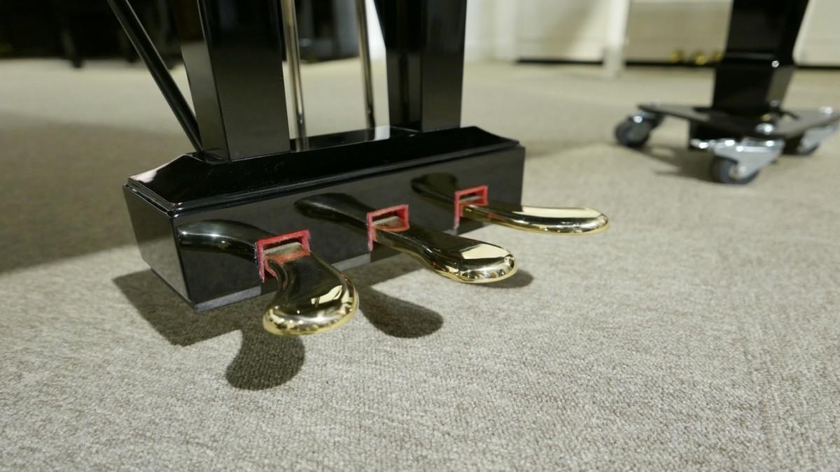 piano de cola Yamaha C6 #5605144 vista pedales