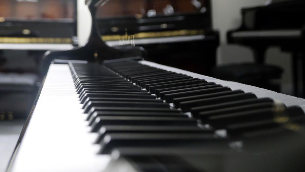 piano de cola Schimmel 174 #307484 vistal lateral teclado teclas