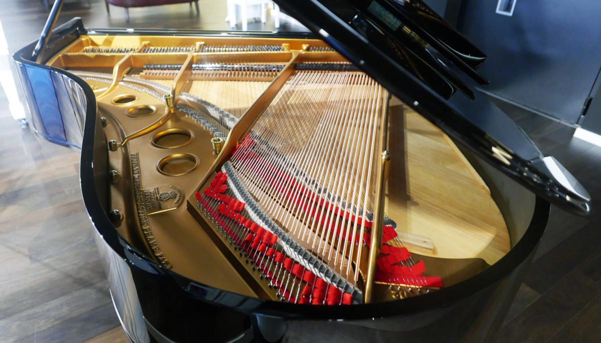 piano de cola Steinway & Sons O180 #238610 vista general trasera
