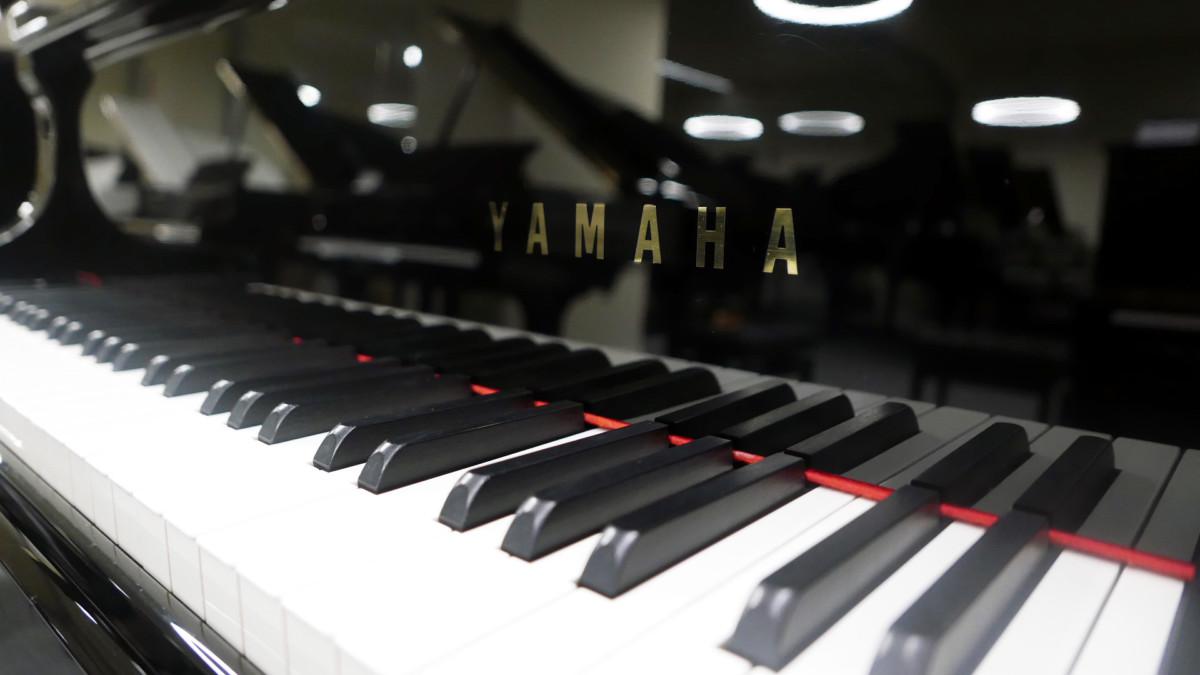 piano de cola Yamaha C3 #5972447 teclas teclado