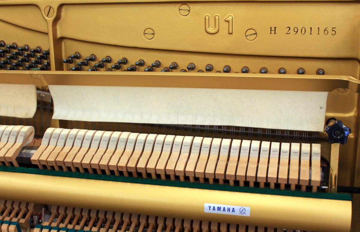 piano vertical Yamaha U1 #2901165 numero de serie modelo
