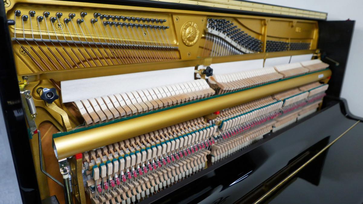 piano vertical Yamaha U3A #4022673 plano general lateral mecanica interior