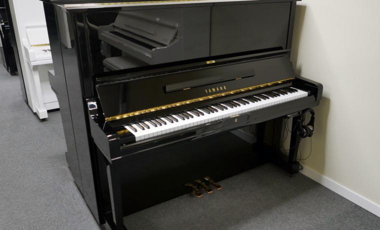 piano vertical Yamaha U3A #4022673 plano general tapa abierta