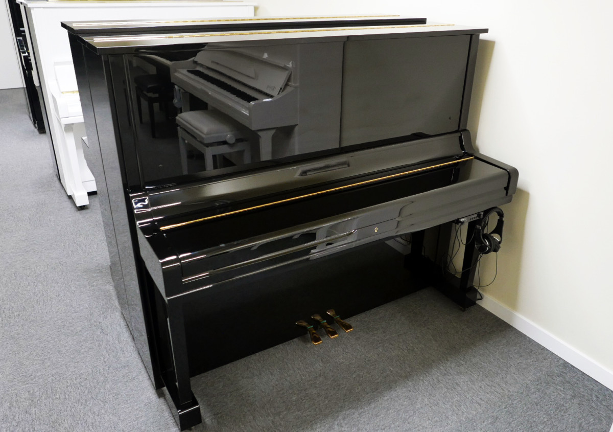 piano vertical Yamaha U3A #4022673 plano general tapa cerrada