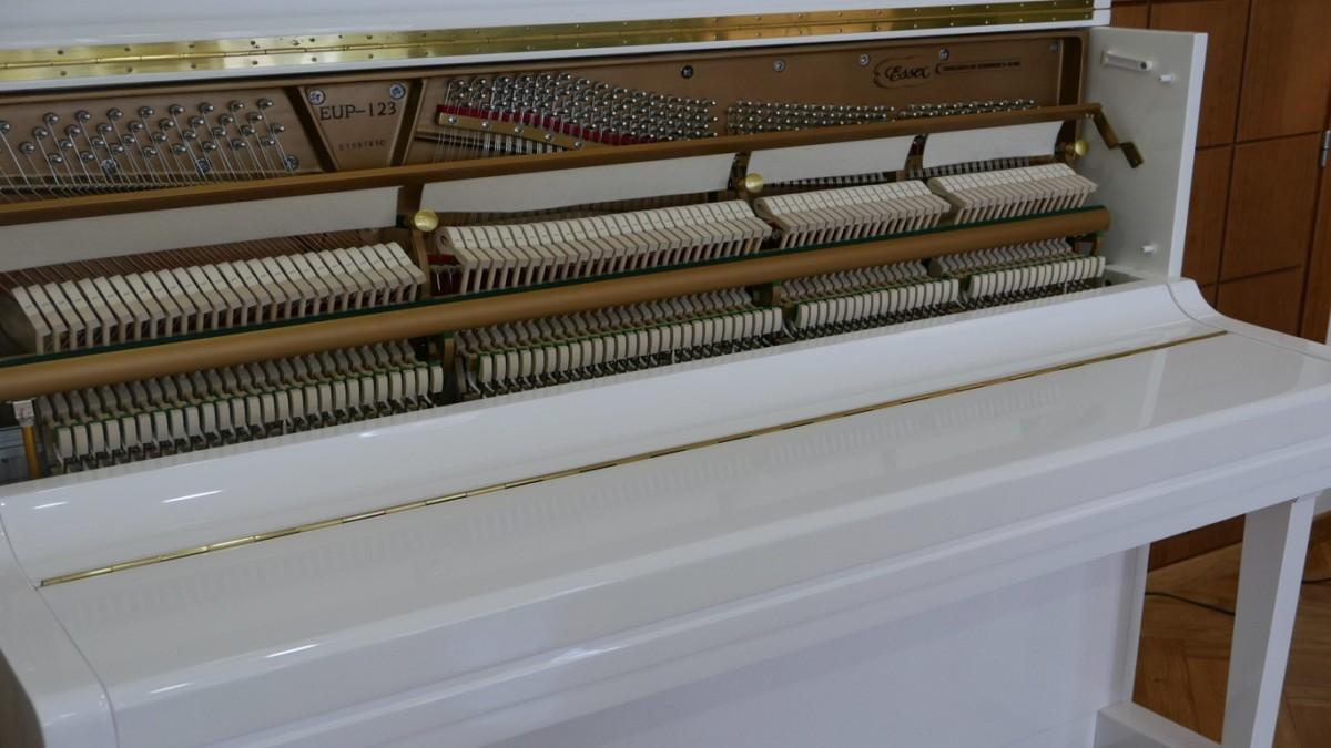 Piano-vertical-Essex-EUP123E-159785-detalle-vista-mecanismo-de cerca-segunda-mano