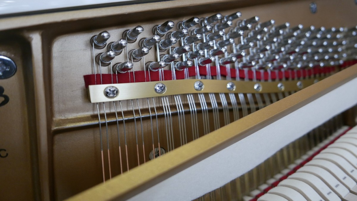 Piano-vertical-Essex-EUP123E-159785-detalle-vista-mecanismo-barra-clavijas-cuerdas-segunda-mano