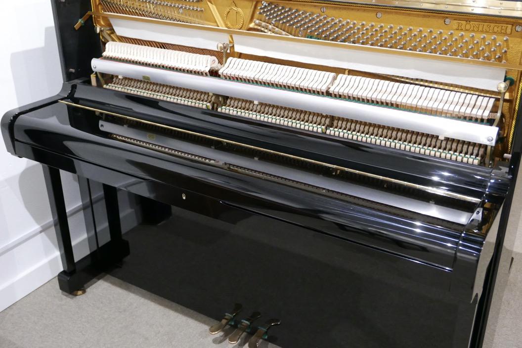 Piano-vertical-Ronisch-116-276273-detalle-vista-general-mecanismo-de-cerca-sin-banqueta-tapa-cerrada-segunda-mano