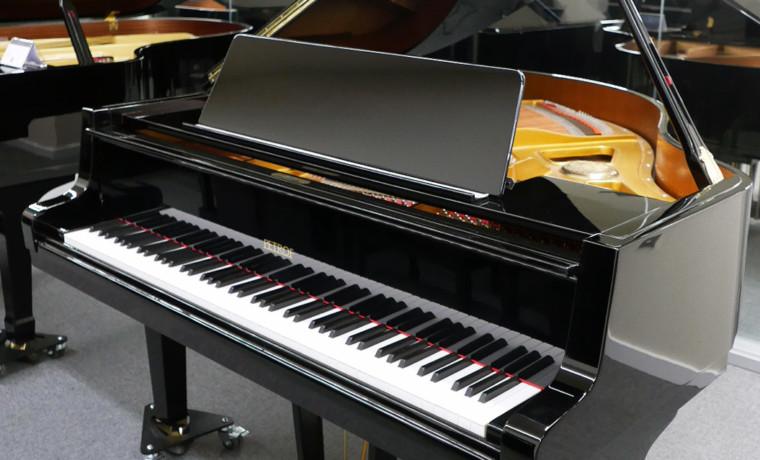 piano de cola Petrof 157 #478883 vista general piano abierto con atril