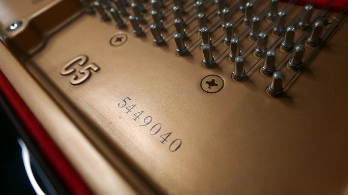 piano de cola Yamaha C5 #5449040 numero de serie modelo
