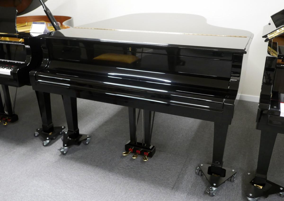 piano de cola Yamaha C5 #5449040 vista general tapa cerrada