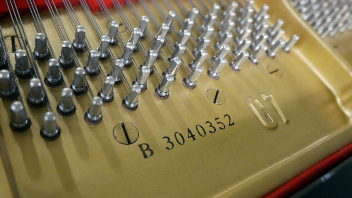 piano de cola Yamaha C7 #3040352 numero de serie modelo clavijero