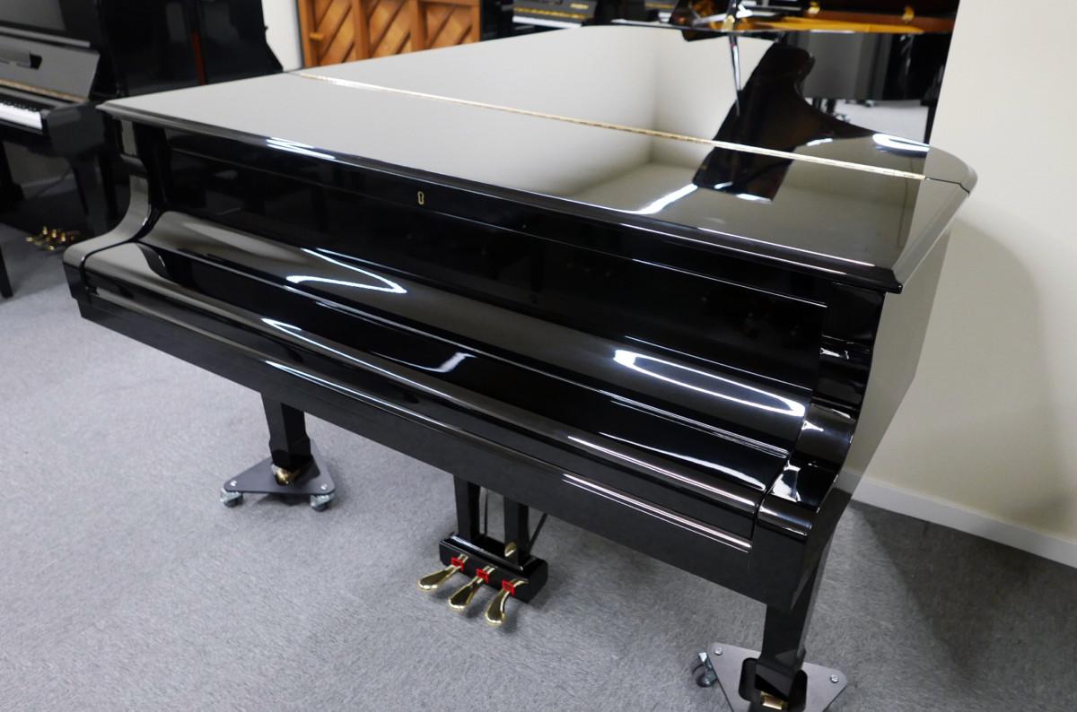 piano de cola Yamaha C7 #3040352 plano general tapa cerrada